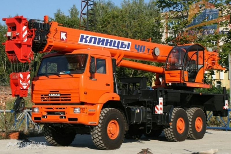 Фото №1:Автокран Клинцы КС-65719-5К