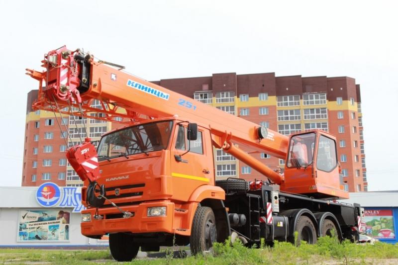 Фото №1:Автокран Клинцы КС-55713-1К-1 с гуськом