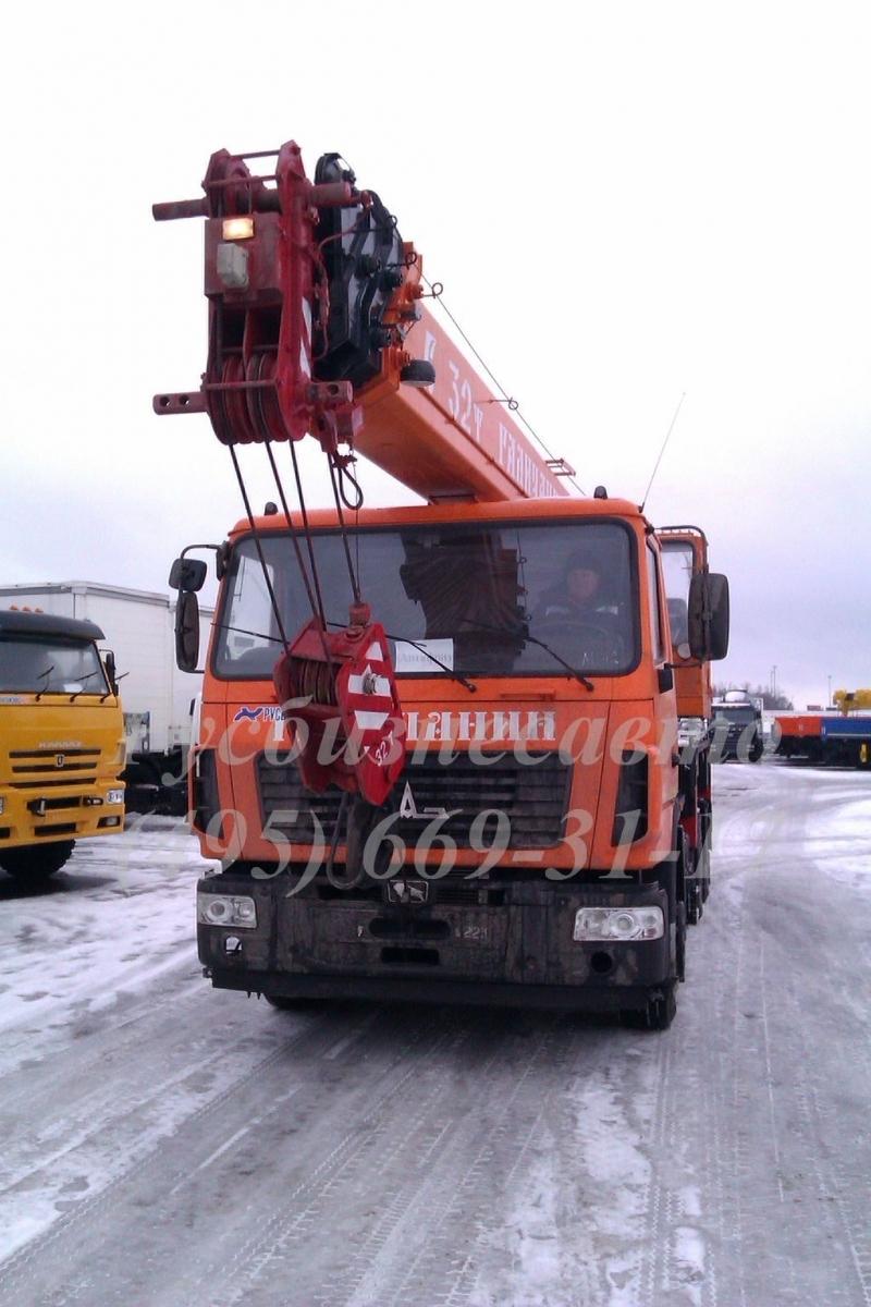 Фото №3:Автокран Галичанин КС-55729В