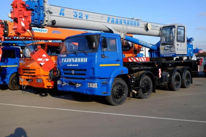 Фото №1:Автокран Галичанин КС-55729-1В с гуськом