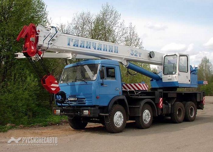 Фото №1:Автокран Галичанин КС-55729-1В