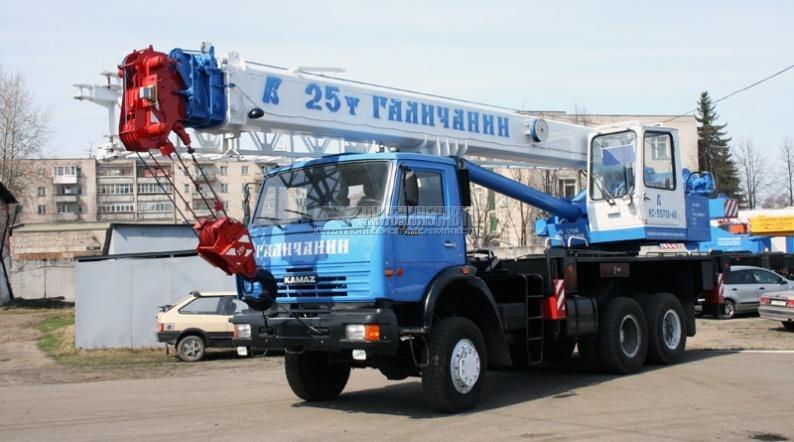 Фото №1:Автокран Галичанин КС-55713-4В