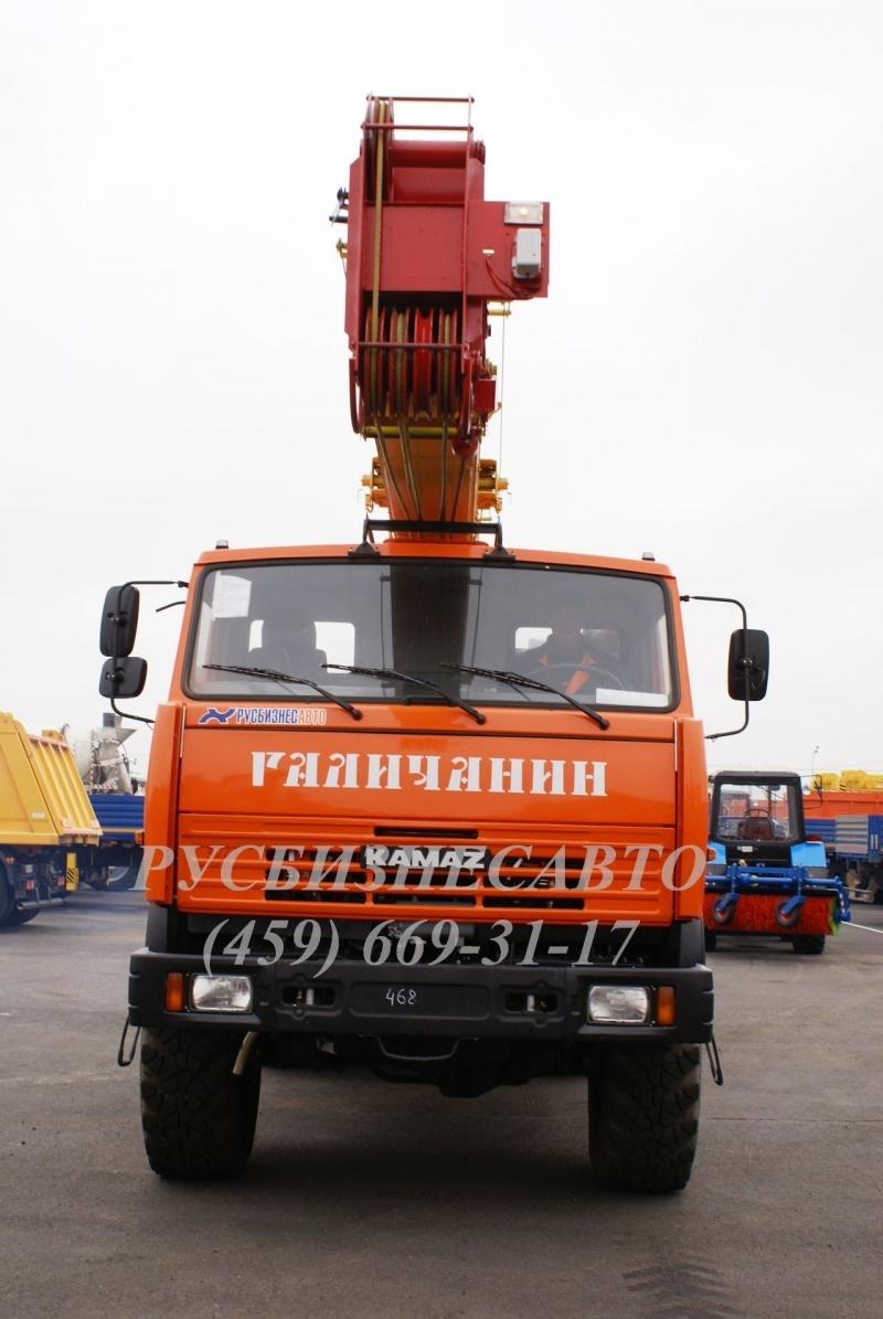 Фото №3:Автокран Галичанин КС-55713-5