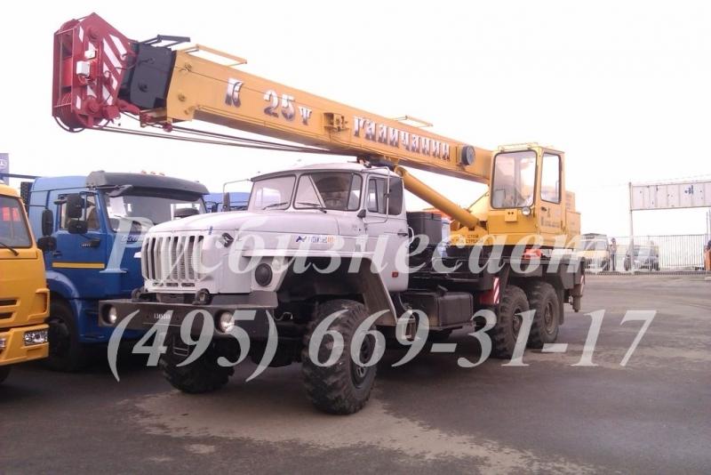 Фото №2:Автокран Галичанин КС-55713-3