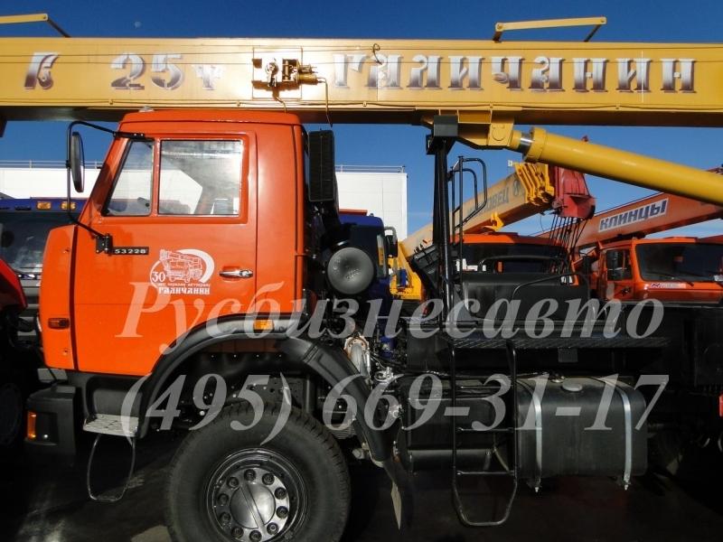 Фото №3:Автокран Галичанин КС-55713-4