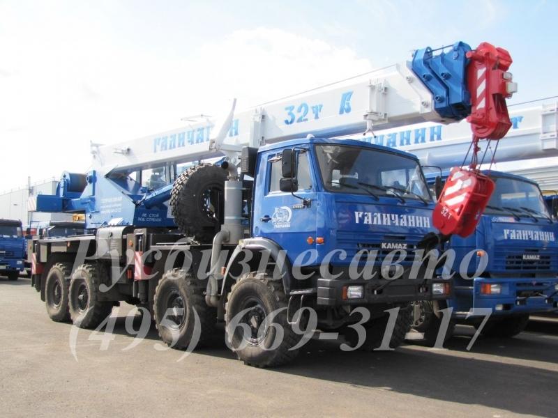Фото №2:Автокран Галичанин КС-55729-5В