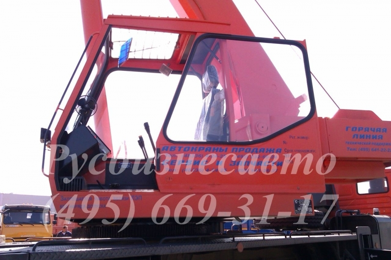 Фото №6:Автокран Клинцы КС 55713-1К-2