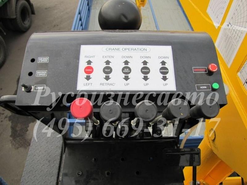 Фото №6:Кран-манипулятор SOOSAN SCS746L верхнее управление
