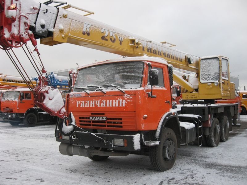 Фото №10:Автокран Галичанин КС-55713-1